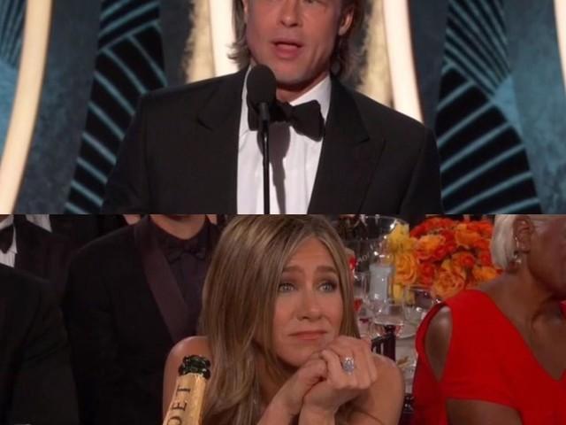 Jennifer Aniston : émue aux larmes devant la victoire de Brad Pitt aux Golden Globes