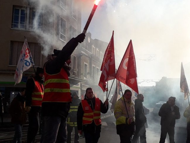 Réforme des retraites : à Châteauroux, les manifestants espèrent une mobilisation encore plus massive