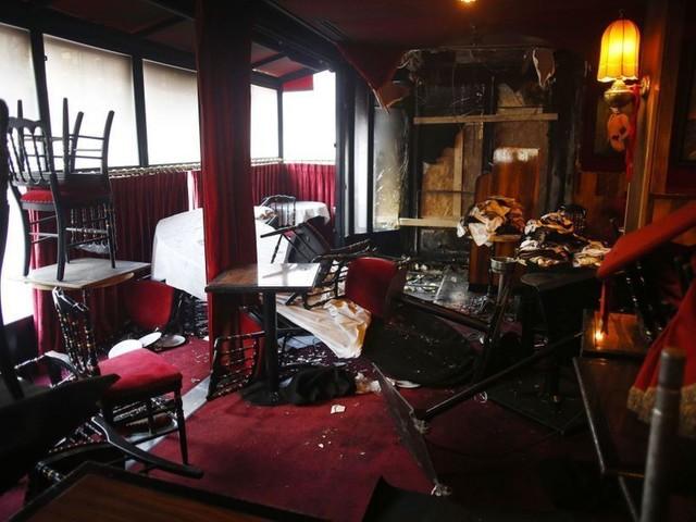 Emmanuel Macron a appelé les gérants de La Rotonde, incendiée samedi