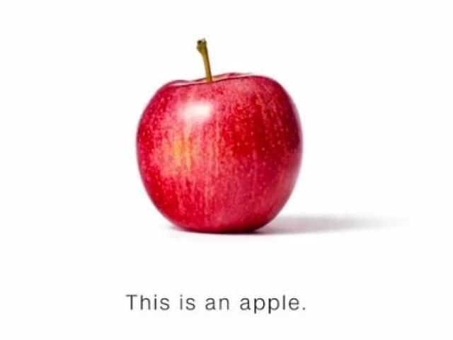 """""""Ceci est une pomme"""", la pub cinglante de CNN en réponse à Donald Trump"""