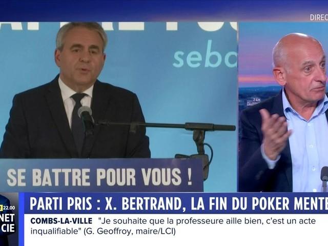 """Les partis pris : la décision Xavier Bertrand sur le congrès LR, la """"relance puissante"""" du charbon, la frontière introuvable entre la France et l'Angleterre, le succès de """"Squid Game"""""""