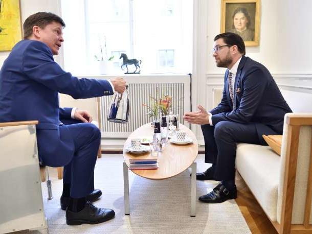 En Suède, la droite tend la main à l'extrême droite
