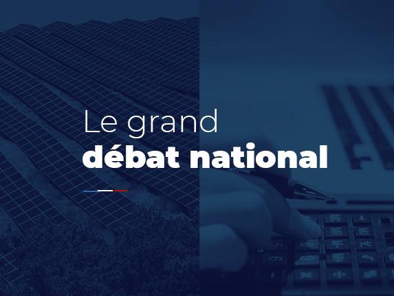 Grand débat national : comment ça marche ?