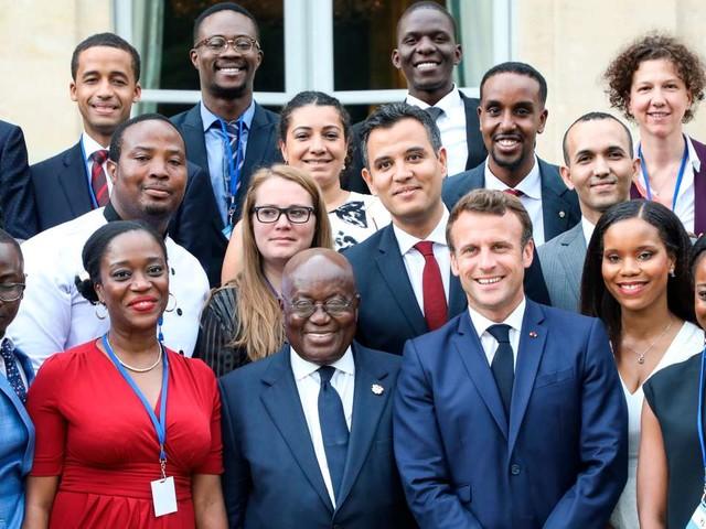 Macron ouvre une première discussion avec les diasporas africaines