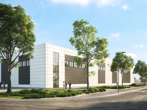 Bentley : un nouveau centre de développement en construction