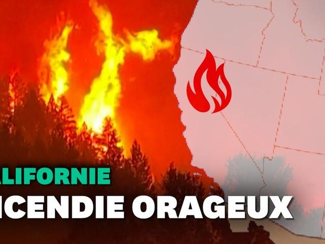 """L'incendie de Californie """"Dixie Fire"""" est si puissant qu'il crée ses propres éclairs"""