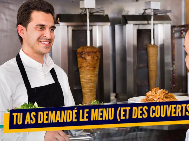 Top 10 des preuves que c'est la première fois que tu vas au kebab