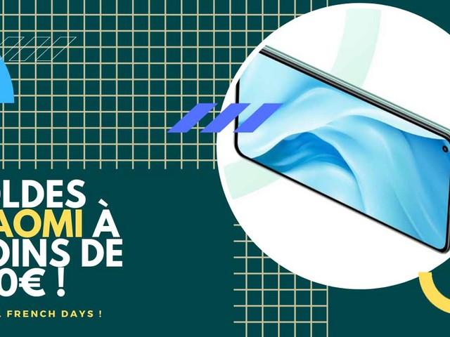 Découvrez 5 promos Xiaomi à moins de 330€ pour les French Days !