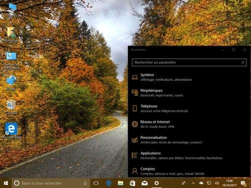 Windows 10 : quoi de neuf dans la Fall Creators Update ?