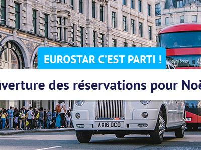 Eurostar : début des réservations pour se rendre à Londres à Noël et au Nouvel an
