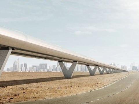 Le test historique de l'Hyperloop One