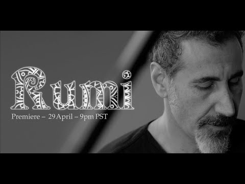 Clip pour Serj Tankian, ça s'appelle Rumi, du nouveau de son fils et d'un poète du 13e siècle. Le titre se...