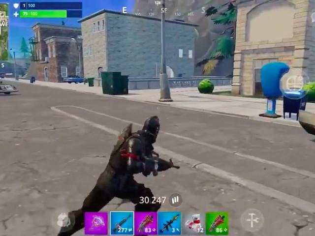 Fortnite : 15 minutes de gameplay sur iPhone