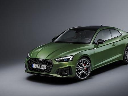 L'Audi A5 Coupé affiche un look sportif plus marqué