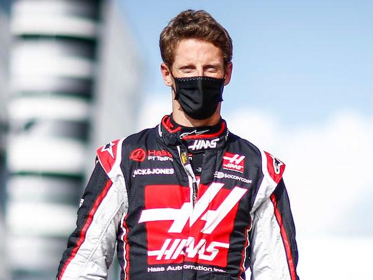 La fin du Français Romain Grosjean en Formule 1