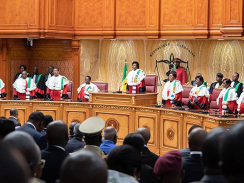 Gabon : Ali Bongo préside la rentrée solennelle de la Cour constitutionnelle