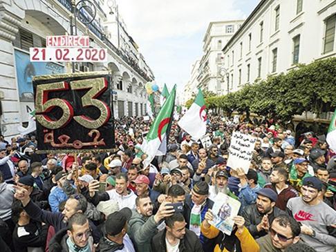 Algérie. Vendredi 21février: «L'an I du hirak»