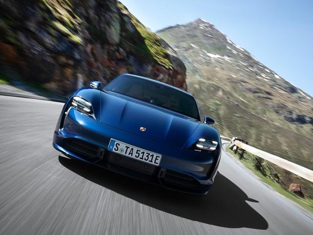 Autonomie décevante pour la Porsche Taycan Turbo