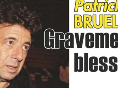 Patrick Bruel, gravement blessé, plus grave que prévu, sa confidence