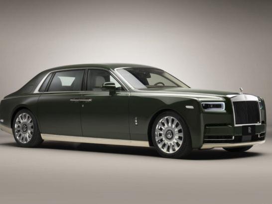 Une Rolls-Royce Phantom unique en collaboration avec Hermès !