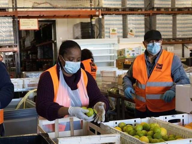 Gironde : la Banque alimentaire a trouvé un mode de collecte adapté au reconfinement