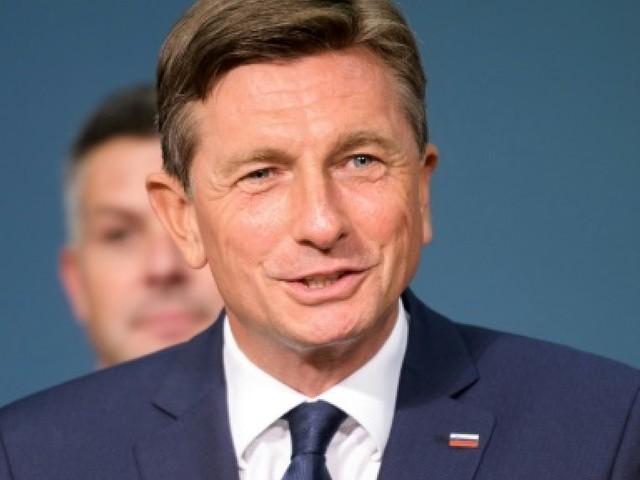 Présidentielle en Slovénie: le président sortant Pahor en tête du 1er tour