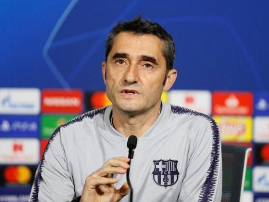 Foot - C1 - Barça - Ernesto Valverde, avant Lyon-Barça : «Un grand défi»