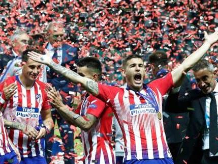 Supercoupe d'Europe: l'Atlético vainqueur du «super-derby» madrilène