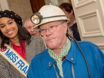 Saint-Avold. La première visite officielle de Miss France en quinze images