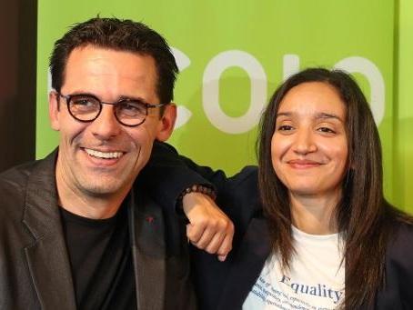 Le duo Maouane-Nollet élu à la co-présidence d'Ecolo avec 92% des voix