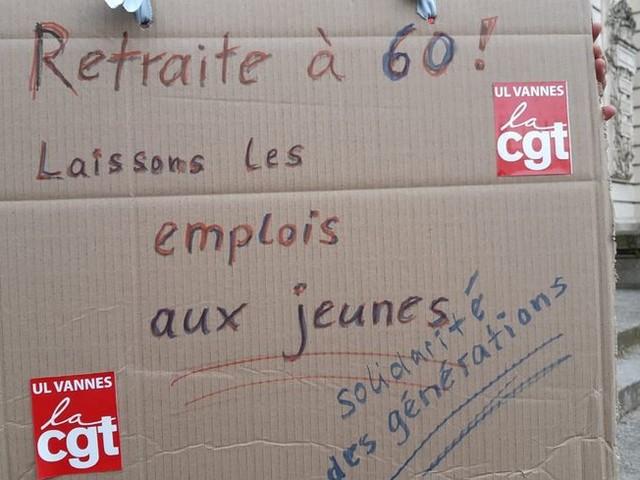 EN DIRECT - Suivez la journée de mobilisation contre la réforme des retraites en Bretagne