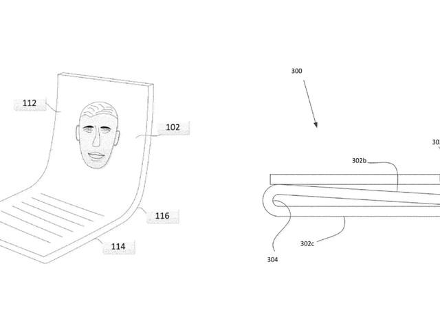 Google a déposé lui aussi un brevet pour un smartphone pliable, mais pas comme les autres