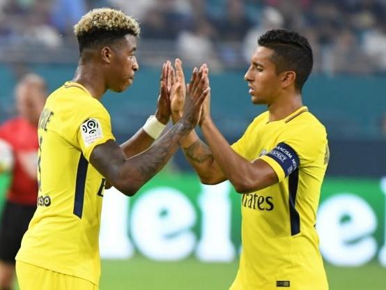 Foot - L1 - PSG - PSG : Marquinhos voit Presnel Kimpembe titulaire en équipe de France