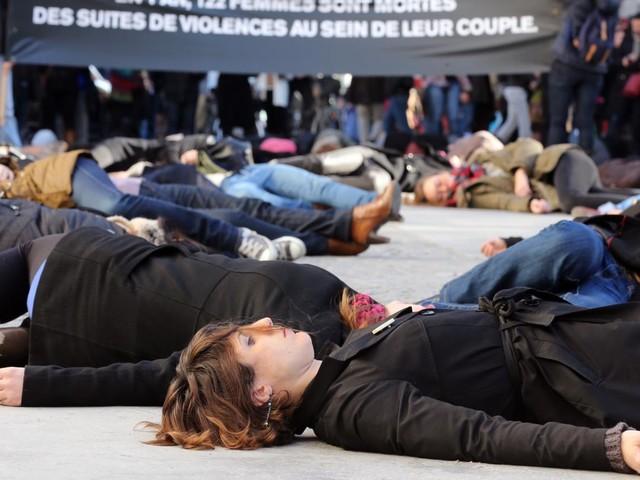 En France, 109 femmes ont été tuées par leur conjoint ou leur ex-conjoint en 2017
