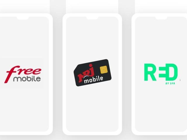RED vs Free Mobile vs NRJ Mobile : quel est le meilleur forfait 60 Go ?