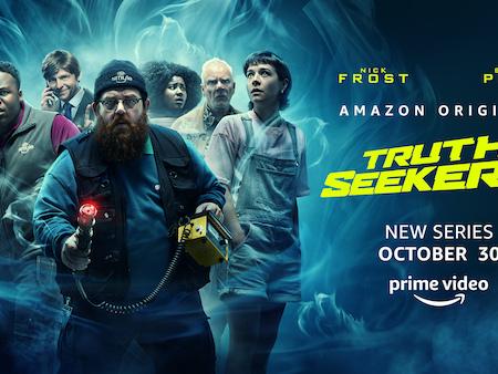 #Trailer Truth Seekers : la nouvelle série créée par Nick Frost & Simon Pegg arrive bientôt sur Prime