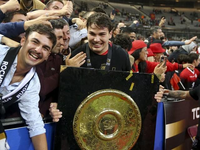 Top 14 : Antoine Dupont élu meilleur joueur de l'année