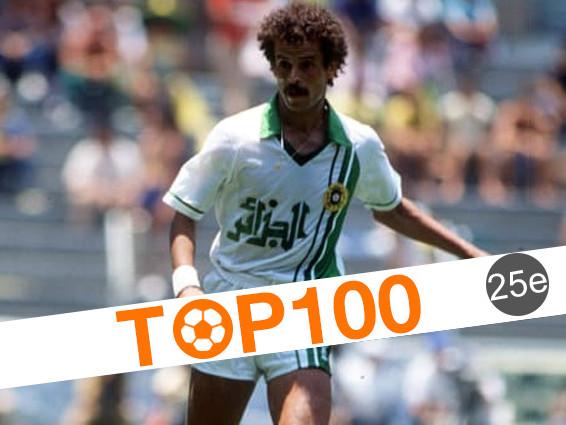 Top 100 des joueurs africains de l'histoire: 25e - Lakhdar Belloumi