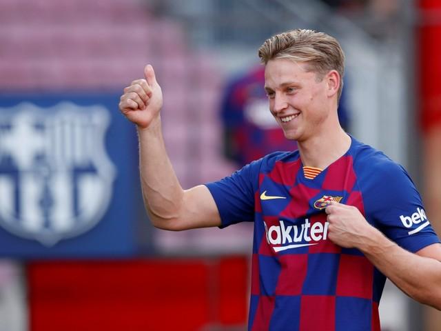 Barça: De Jong se montre rassurant