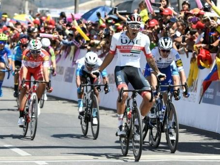 Tour de Colombie: la 2e étape pour Molano, Caicedo toujours leader