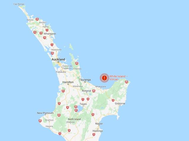 Nouvelle-Zélande : 5 morts après l'éruption de White Island