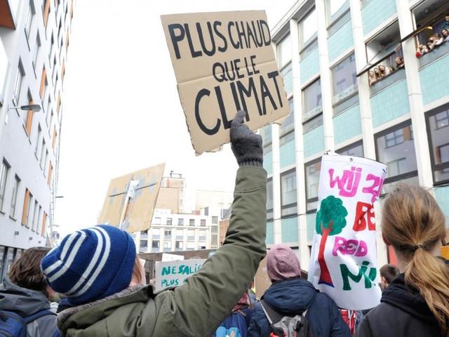 Grève mondiale pour le climat: 7 villes belges accueillent des manifestations