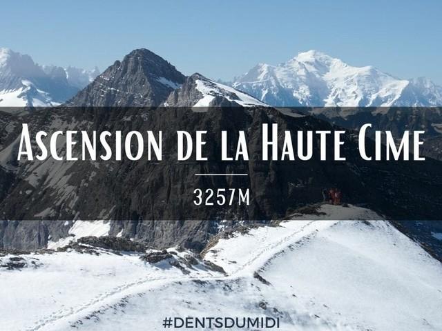 Ascension de la Haute Cime des Dents du Midi (3257m)