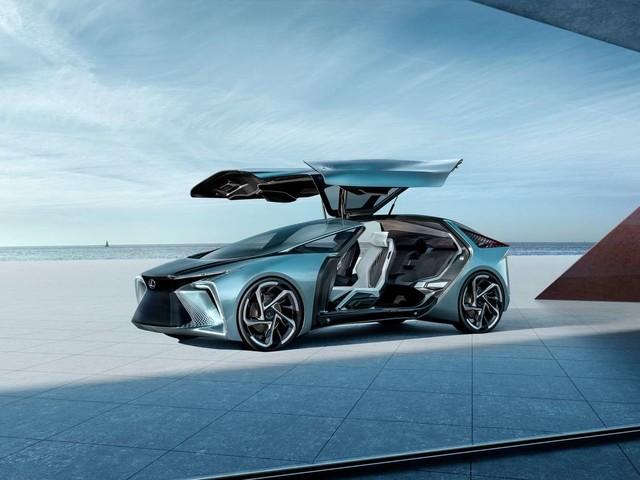 Avec le concept LF-30, Lexus livre un aperçu de sa première voiture électrique et autonome