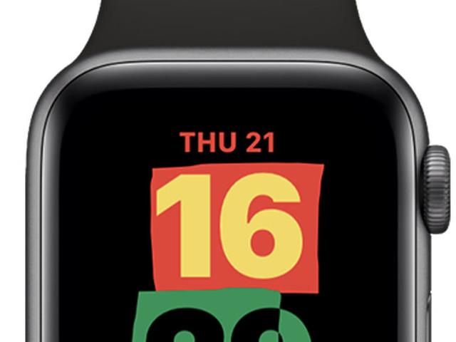 Un nouveau cadran Unité pour watchOS 7.3