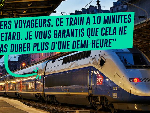 Top 15 des messages loufoques entendus dans les trains belges (prends ça, SNCF !)