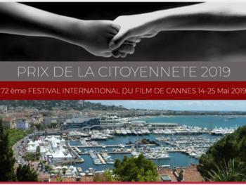 72ème Festival de Cannes : présentation du Prix de la Citoyenneté 2019