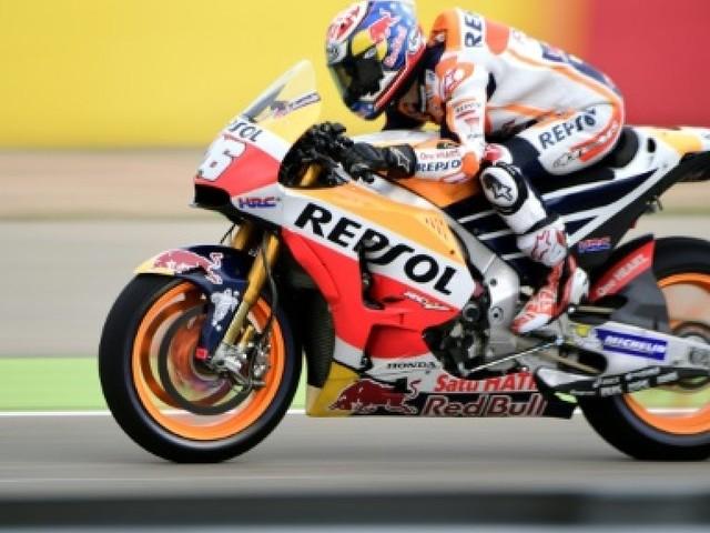Moto: Pedrosa domine les séances du GP d'Aragon, Rossi revient