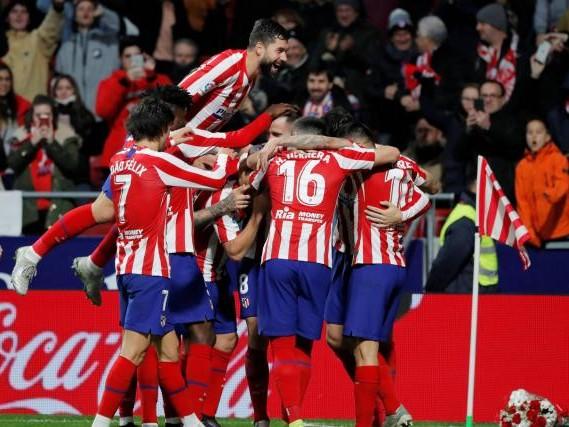 Foot - ESP - L'Atlético de Madrid retrouve le top 4 après sa victoire contre Osasuna