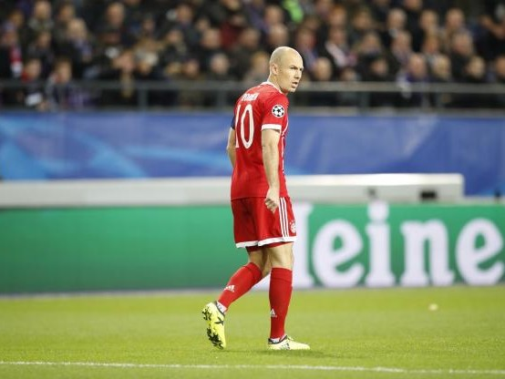 Foot - C1 - Bayern - Le Bayern Munich sans Arjen Robben à Amsterdam en Ligue des champions
